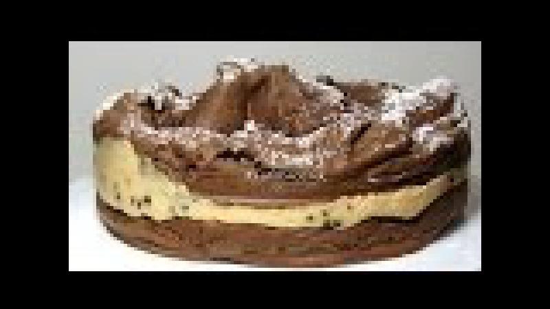 Ах! какой Шоколадный торт КАРПАТКА Польский торт с карамельным заварным кремом KARPATKA cake recipe