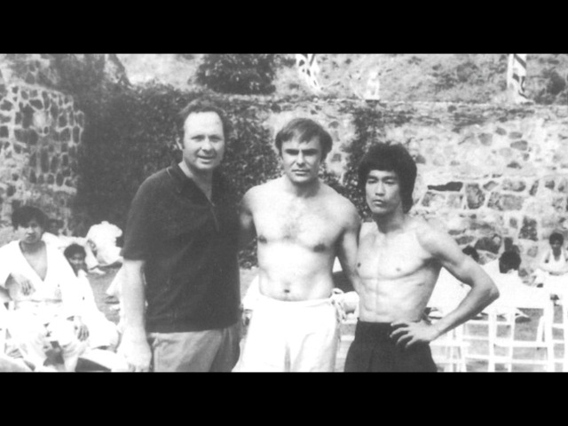 БРЮС ЛИ За кулисами К ф ВЫХОД ДРАКОНА 1973 год