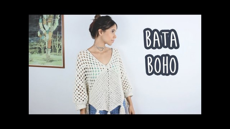 BATA BOHO SUPER BARATA - CROCHÊ