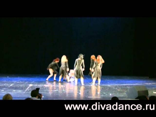 Белая ворона Готик-данс готические танцы Divadance. Gothic dance