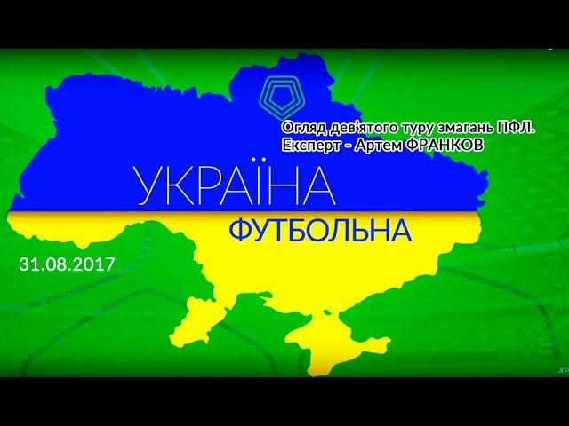 Україна футбольна Дев'ятий тур експерт Артем ФРАНКОВ