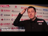 2017 Snooker China Open Ricky Walden last 64 interview