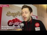 2016 Snooker 6-Red Round Robin stage Ricky Walden interview