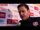 2016 Snooker China Open Last 32 Ricky Walden interview