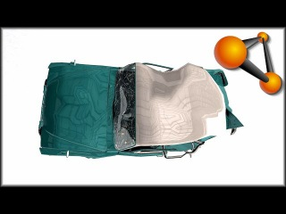 BeamNG Drive Damage Test at 30, 40, 60, 90, 120Mph Ibishu Miramar Luxe Mira - Matic (A)
