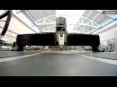 Портальный станок промышленного класса Krypton CNC в действии
