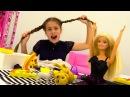 Барби Мультфильмы для девочек 👗 Кукла готовит ПИЦЦУ на ВЕЧЕРИНКУ 🍕 Игры для д