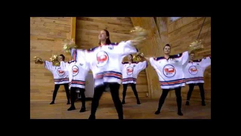 Мисс ТюмГМУ 2017 Группа поддержки хоккейной команды Рубин