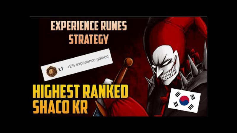 NEW SHACO STRATEGY HIGHEST RANKED KOREAN SHACO BUILD GUIDE-