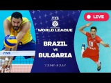 Brazil v Bulgaria - Group 1: 2017 FIVB Volleyball World League