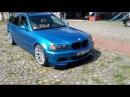 BMW e46 330D Touring Wrap Avery Dennison Gloss metallicBright Blue