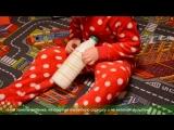 Развивающая игрушка из бутылки. Чем занять ребенка дома - Лика Хурция (4года 1ме