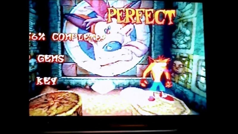 Crash Bandicoot 1(NTSC-U).Уровень Generator Room.Гем.