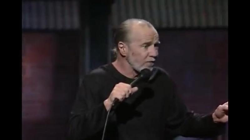 Джордж Карлин о войне в 1991 году (еще до бомбардировок Югославии)