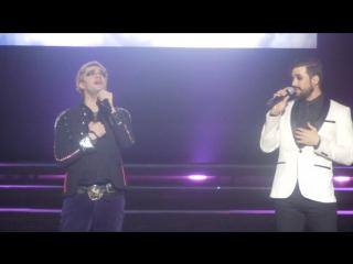 Mikelangelo Loconte & Florent Mothe. Vivre a en crever. 13.03.2017