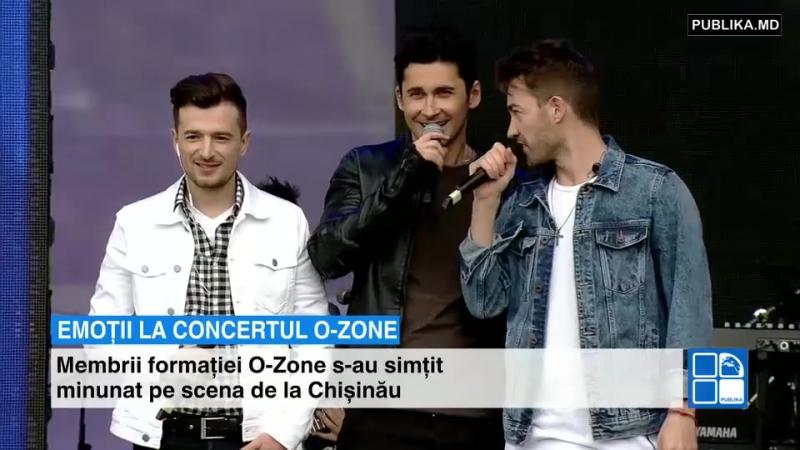 9.05. 2017 Кишинев, Молдова emotii-la-concertul-o-zone