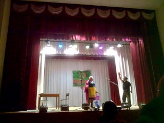Театрализованный концерт на 23 февраля