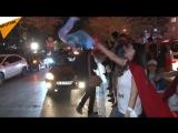 伊斯坦布尔数千人走上街头抗议土耳其公投结果
