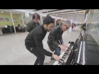 Групповая игра на пианино. Буги-вуги
