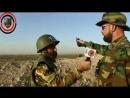 Герои сил Щит Каламуна в северной местности провинции Хама, на направлении Маан