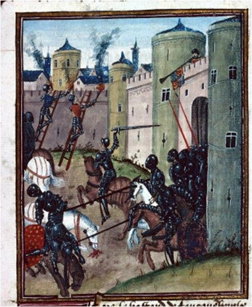 Обычаи войны в Бургундии и на Руси