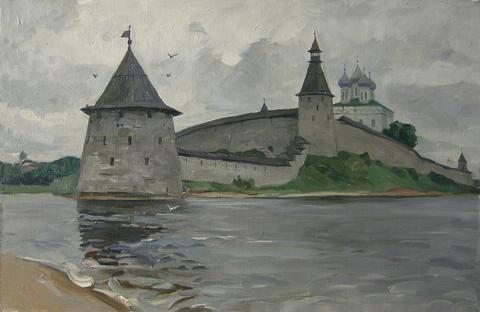 Численность войск Псковской земли в XIII-XV веках