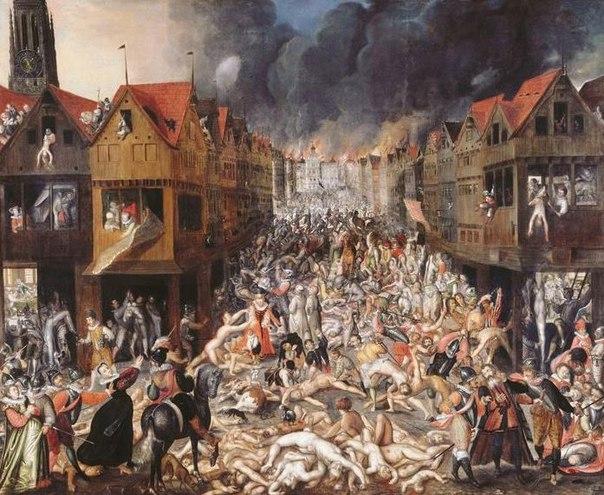 В 1570г. Иван Грозный, искореняя измену, устроил