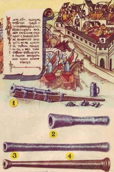 Огнестрельная артиллерия на Руси в XIV-XV веках.