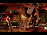 Новенькие, обучение Pole dance 3. ХО club // Galaxy Cabaret