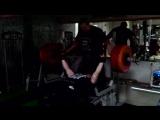 Bench press 160 kg x 3 reps