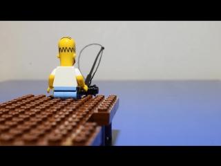 Лего Сімпсони як правильно рибалити
