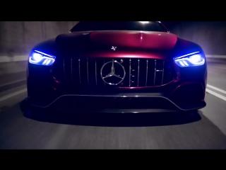 Самый красивый седан в мире выйдет в 2018. Это Mercedes AMG GT
