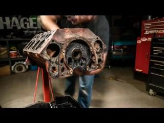 Восстановление мотора Ford V8
