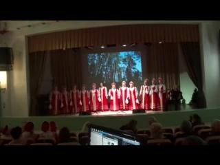 Выступление Столовчанки на Битве хоров- 2016