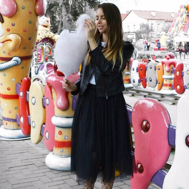 Любимая женственная юбка длины миди