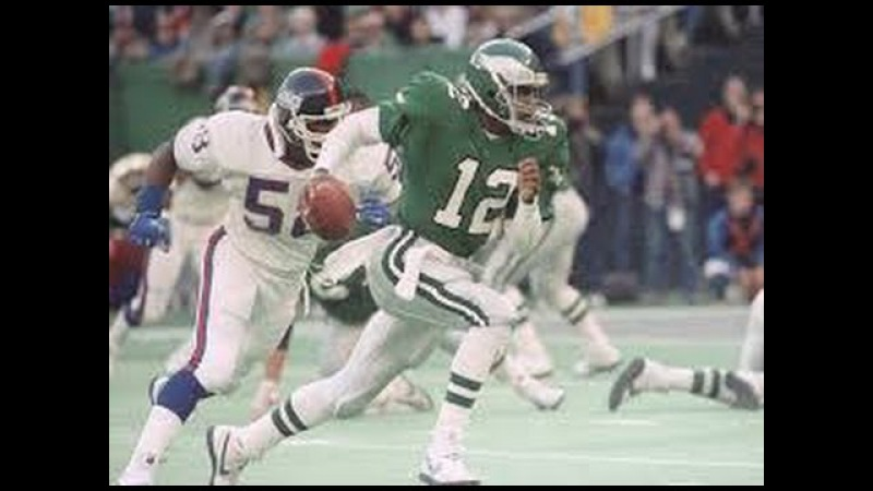 Randell Cunningham Ultimate Clutch Highlights- The Rubber Band Man