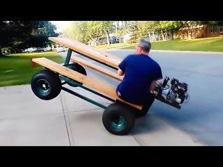 Необычные и странные транспортные средства - Удивительные самодельные изобрете...