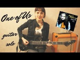 Joan Osborne - One of Us, guitar solo cover by Joan Cat