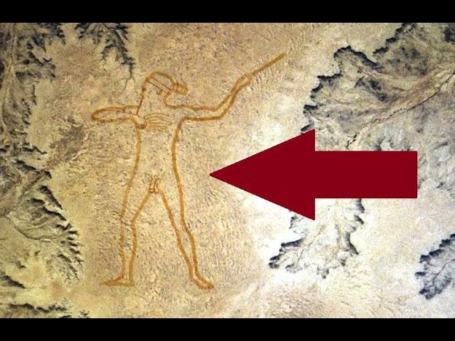 Это изображение загадочнее геоглифов плато Наска. Маррийский человек