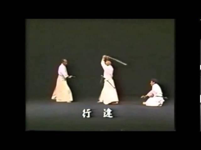 Hakuo Sagawa - Muso Shinden-ryu Okuiai Tachiwaza (detailed)