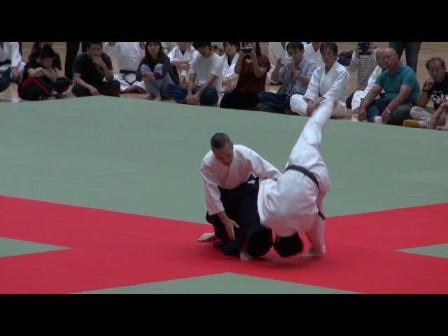第62回演武会 養神館 千野先生 -2017 Demo Yoshinkan Chino sensei