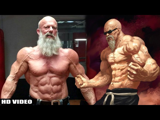 Real Life Master Roshi | 64 Years Old Bodybuilder | Andreas Cahling Workout