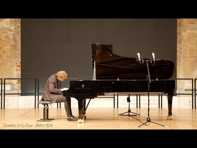 J.S.Bach, vier Duette BWV 802-805, e-moll, F-dur, G-dur, a-moll, Pavel Kuznetsov