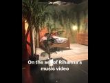 Сет нового клипа DJ Khaled и Рианны (Майами, 05.06.2017)