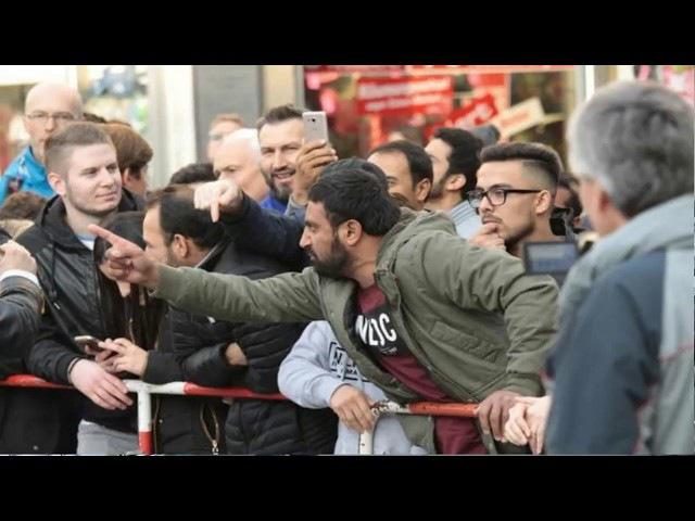 Zwei afghanische Flüchtlings Moslems wollen Stürzenberger in München töten
