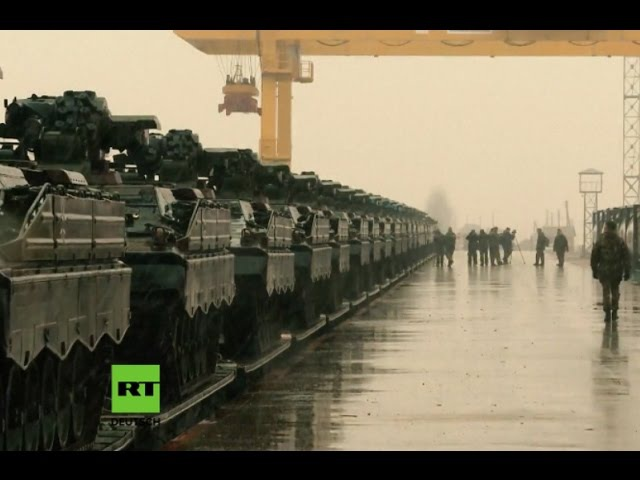 """NATO-Mission: """"Russische Aggression abschrecken"""" - Letzte deutsche Panzer erreichen Litauen"""