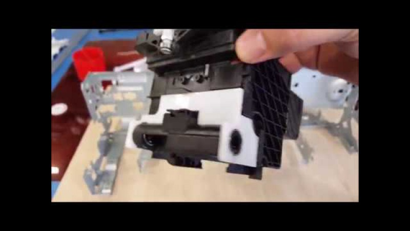 УФ принтер из EPSON L800805 (Часть 1) Переделка рамы, привода и подшипников головки.