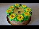 Торт МЕДОВИК Рецепт медовика на ЖЕЛТКАХ Honey Cake Recipe Оформление торта в домашних условиях