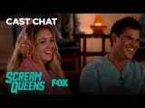 Billie Lourd & Taylor Lautner Talk About Their Killer Relationship   Season 2 Ep. 2   SCREAM QUEENS