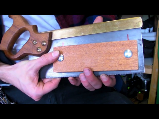Tenon Kerfing Saw Depth Stop Jig